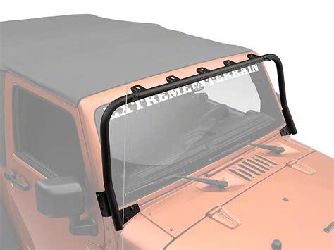jeep kc lights kc hilites wrangler overhead light bar black 7417 07 17