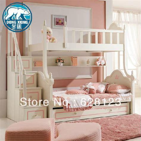 Princess Bunk Beds With Stairs Shop Popular Princess Bunk Bed From China Aliexpress