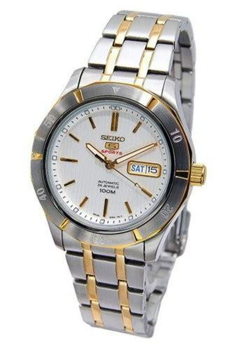 Jam Tangan Pria Seiko 5 Snzf79 Silver Gold jual seiko seiko 5 sport jam tangan pria silver gold