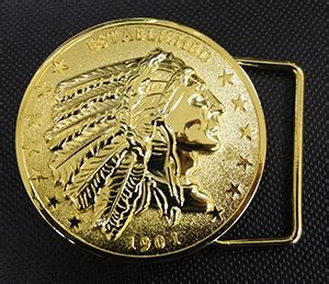 G Ci Silver Gold Cover Gold indian motorcycle belt buckle gold silver