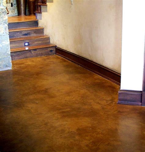 Bathroom Stencil Ideas Acid Wash Concrete With Concrete Acid Stain Floor Ideas