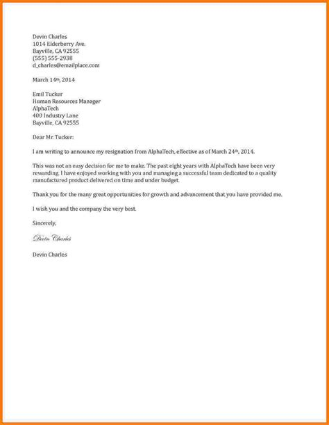 two week notice template word doc585609 resign letter sample word