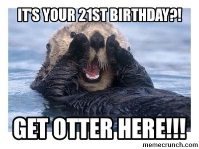 21 Birthday Meme - happy 21st birthday lorna