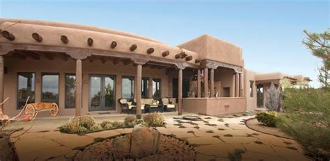 southwest adobe homes southwest style pueblo desert adobe home cabin designs