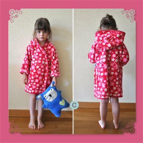 robe de chambre fillette les f 229 nt 229 isies de cocorely robe de chambre d enfant