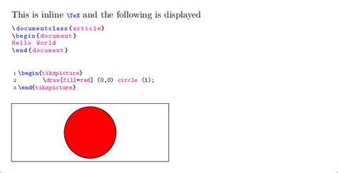 Latex Tutorial Hello World   latex enumerated inline createsirritation cf