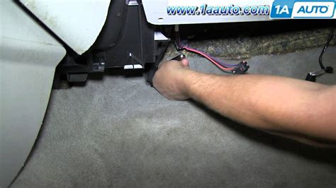 ac heater fan speed resistor how to install replace ac heater fan speed resistor 2006 12 chevy impala