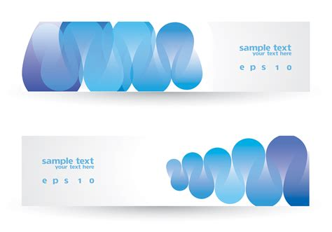 Shiny Funky And A License To Wed by Funky Blue Banner Set Vector Free Vector