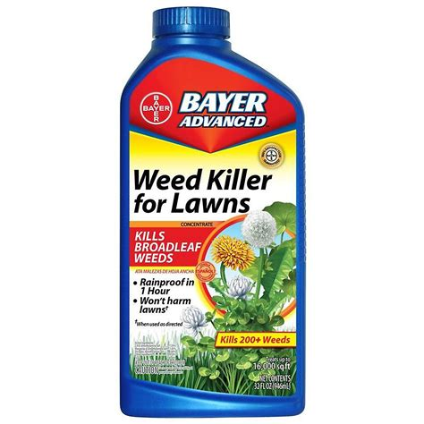 Garden Killer by Bayer Advanced Killer Concentrate For Lawns 32 Oz