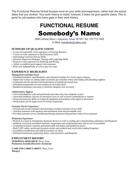 Resume Samples U Of T by Resume Examples One Job Resume Template How To Show Multiple Positions At One Company Pdf
