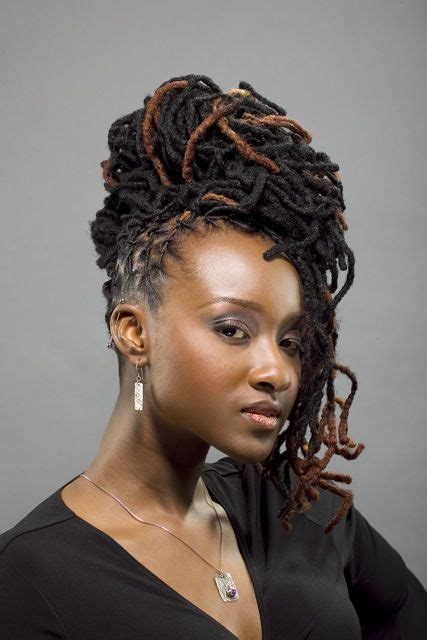 Locs Hairstyles by 25 Updo Styles For Locs Tgin