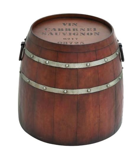 barrel accent table wine barrel accent table globe imports