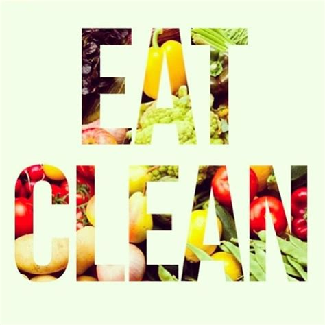 clean lifestyle quotes quotesgram - Clean Dinner