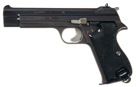 swiss army holster excellent swiss army sig p210 2 semi automatic pistol with