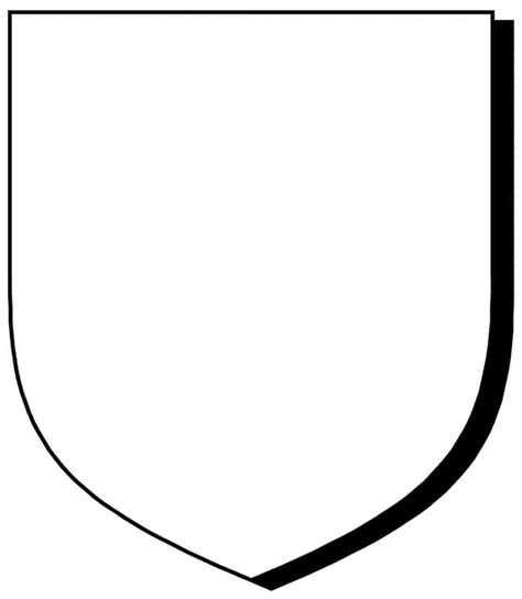 template of knights shield shield template knights dragons