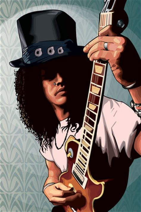 Slash Guns N Roses 80s Iphone Semua Hp 1 slash style fashion coolspotters