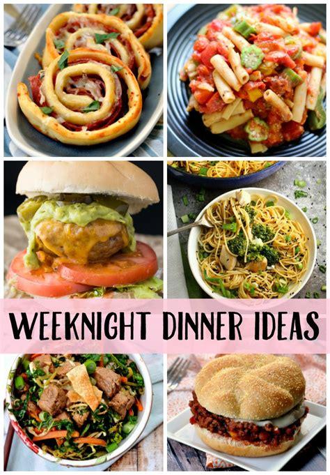 weeknight dinner more easy weeknight dinner ideas create crave