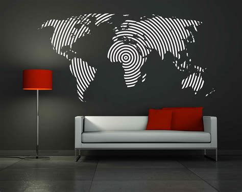 Wall Graphics Stickers designing the home with modern wall decals