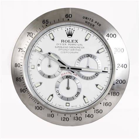 Rolex Chronographe Silverwhite rolex style oyster cosmograph daytona wall clock ref no