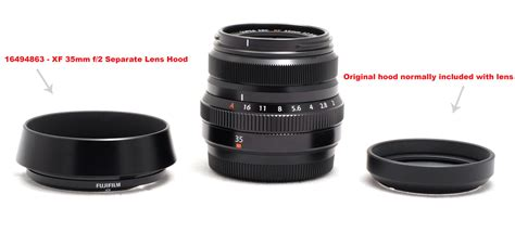 New Fujifilm Lh Xf16 Lens fujifilm lh xf35 2 lens new for xf 35mm f 2 r wr lens for sale