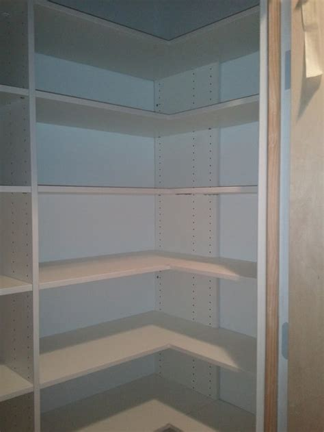 closet corner shelf houzz