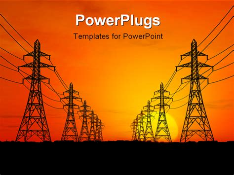 electrical templates for powerpoint free download best electric lines powerpoint template professional
