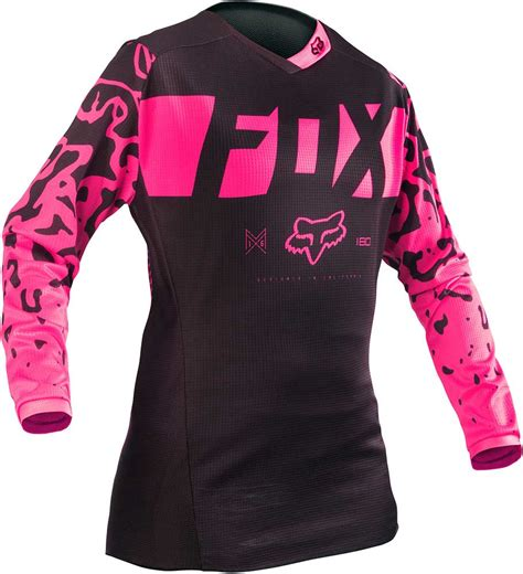 womens fox motocross gear 2016 fox racing 180 womens jersey motocross dirtbike mx