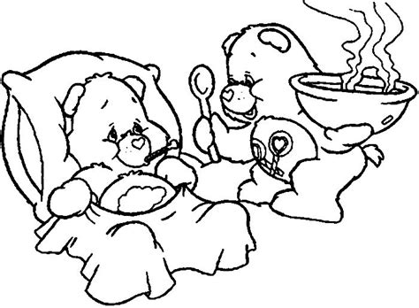 coloring pages of grumpy bear 17 best images about care bear grumpy bear 4 on