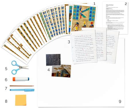 ancient egypt poster board tutorial school project