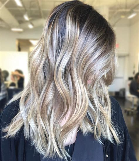 perfect shadow root on blonde hair shadow root blonde balayage behindthechair com