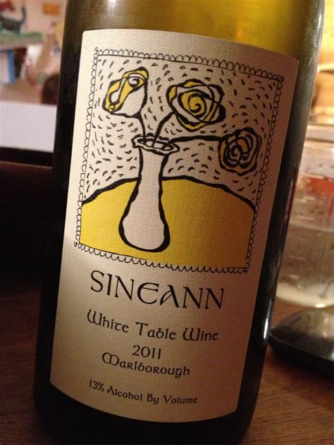 sineann white table wine 2013 in the glass sineann white table wine 2011 the