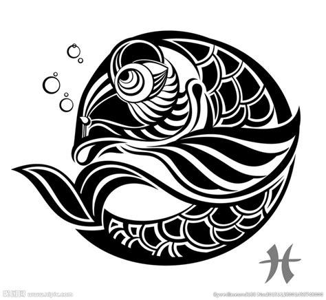 黑白剪影 矢量素材 图案 鱼设计图 鱼类 生物世界 设计图库 昵图网nipic com