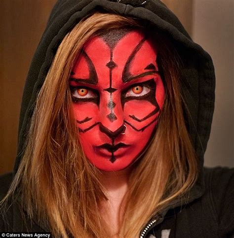 How To Become A Makeup Artist Online Make Up Artist Transforms Herself Into The Grinch The Joker And Captain Planet Daily Mail Online