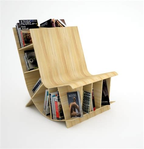 furniture bookshelf interior creative contemporary