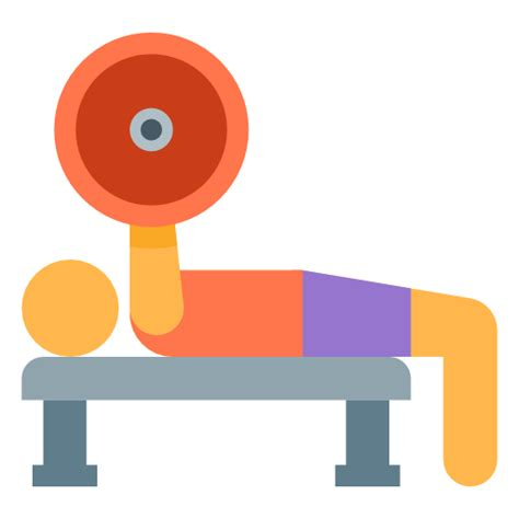 bench press person bench press icon free download at icons8
