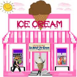 Homemade Awning Ice Cream Shop Polyvore