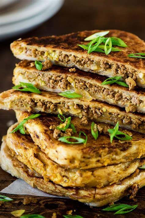 spiced beef roti turnover murtabak curious nut