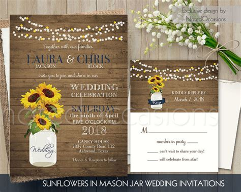 sunflower wedding invitations kits sunflower wedding invitations kits oxsvitation