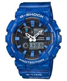G Shock Ori Gax 100msa 2a g shock white black blue green gax 100