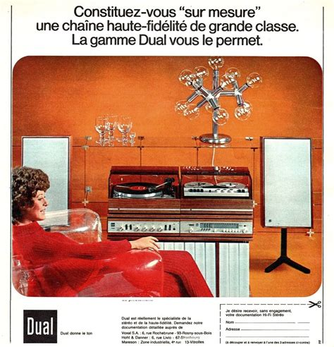 Elite Home Decor Hi Fi Heaven Stereo Amp Record Player Advertising 1960s