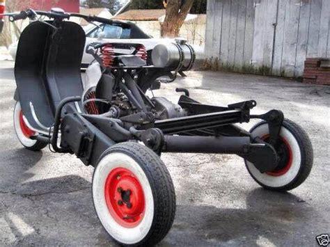 Dreirad Motorrad Mit Vw Motor by Vespa Trike 2 Wheelers Scooter Pinterest Motorroller