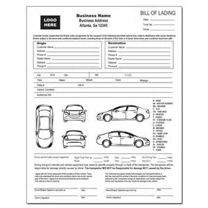Auto Transport Invoice Template by Bill Of Lading Pdf Bill Of Lading Pdf Form 9 Best Images