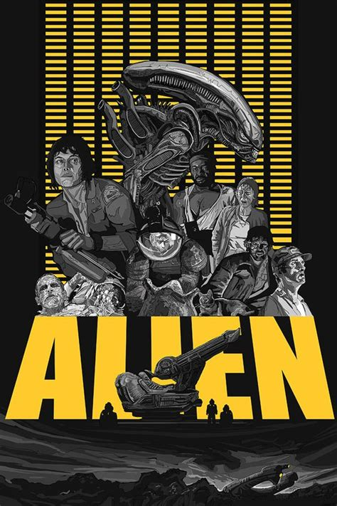 pop art sci fi alien retro vintage horror  propaganda