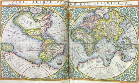 atlas and maps wonderful world mercator s atlas 1613 st s college