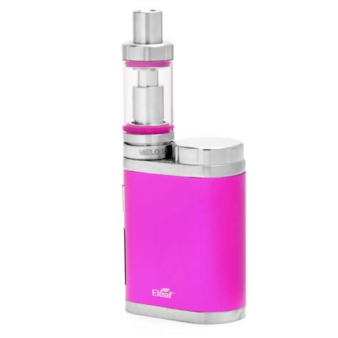 Eleaf Melo 3 Mini Tubeglass Authentic authentic eleaf istick pico mega 80w mod pink kit