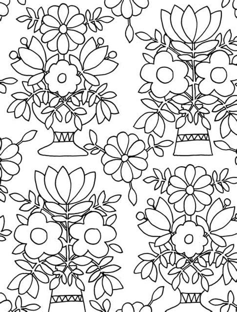 Just Add Color Folk Art 30 Original Illustrations To Folk Coloring Pages