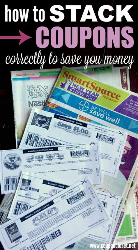 how to stack coupons coupon closet