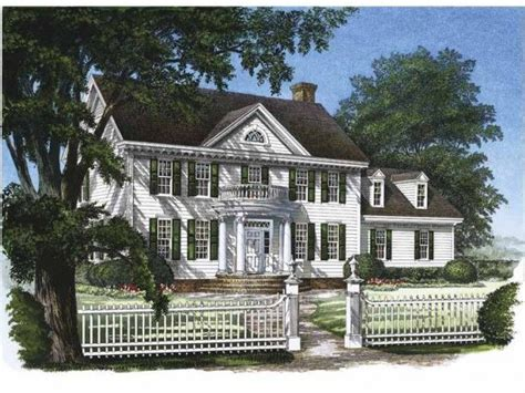 georgian style house plans dream home pinterest