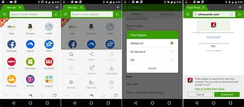 dolphin browser flash apk how to install adobe flash player on an android device