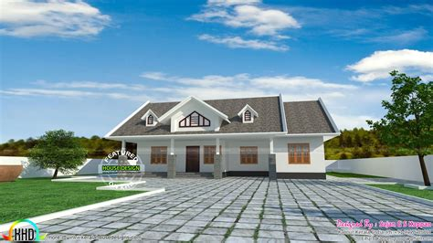 house design dormer windows single floor dormer window home kerala home design and